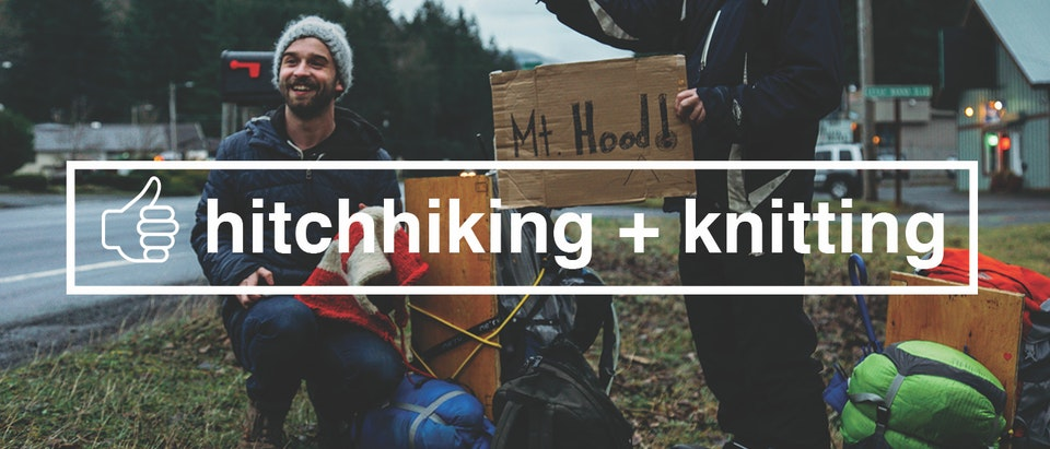 How To Learn Anything S1 Episode 5: Hitchhiking + Knitting