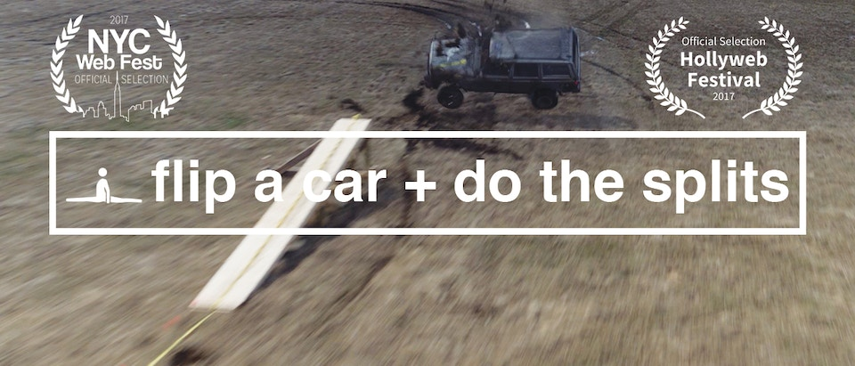 How To Learn Anything S1 Episode 4: Flip A Car + Splits