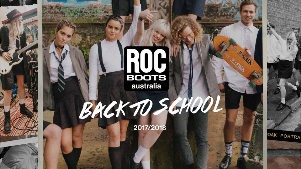 ALDAIN – Content Creator • Design • Sydney - ROC Boots Back To School (2017/18)