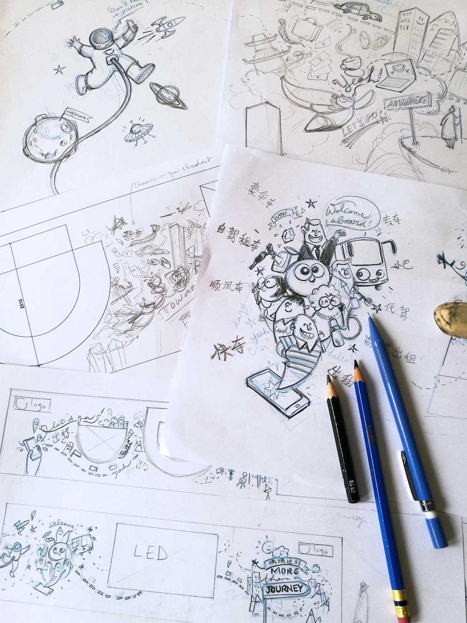 1-1-Didi-mural-prepa-skts - preparatory sketches