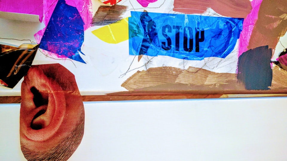 ART BLOOM . Art Workshops - Stop to Listen .