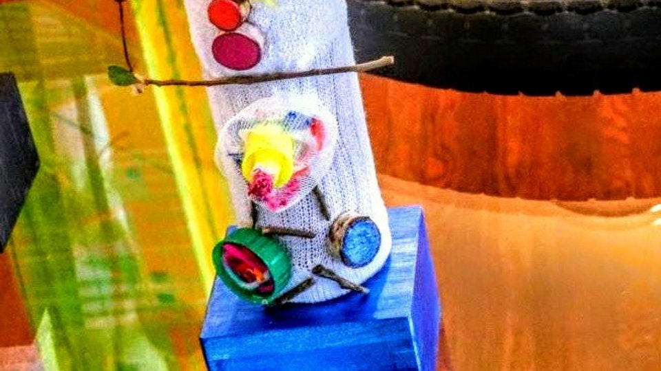 ART BLOOM . Art Workshops - The Flower Cloud Student Project