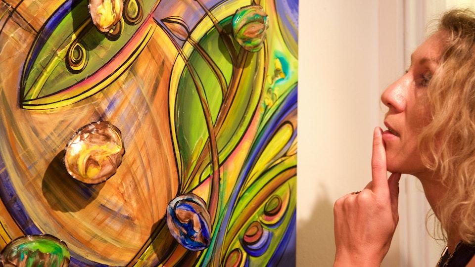 FREE  WILL . Reception I . 2015 - FREE WILL . Solo Art Show . Reception I . Mixed Media Art . 3D . Texas . USA . 2015