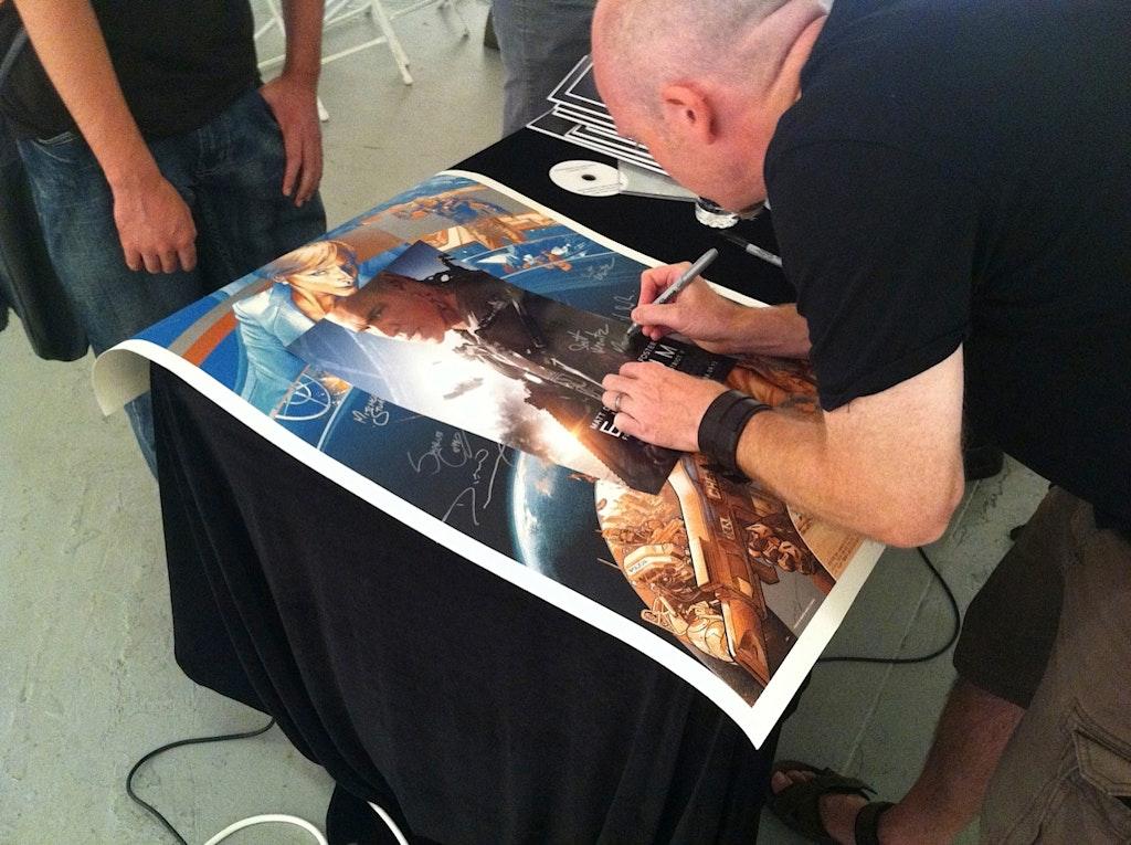 "LA ""The Art of Elysium"" book signing"