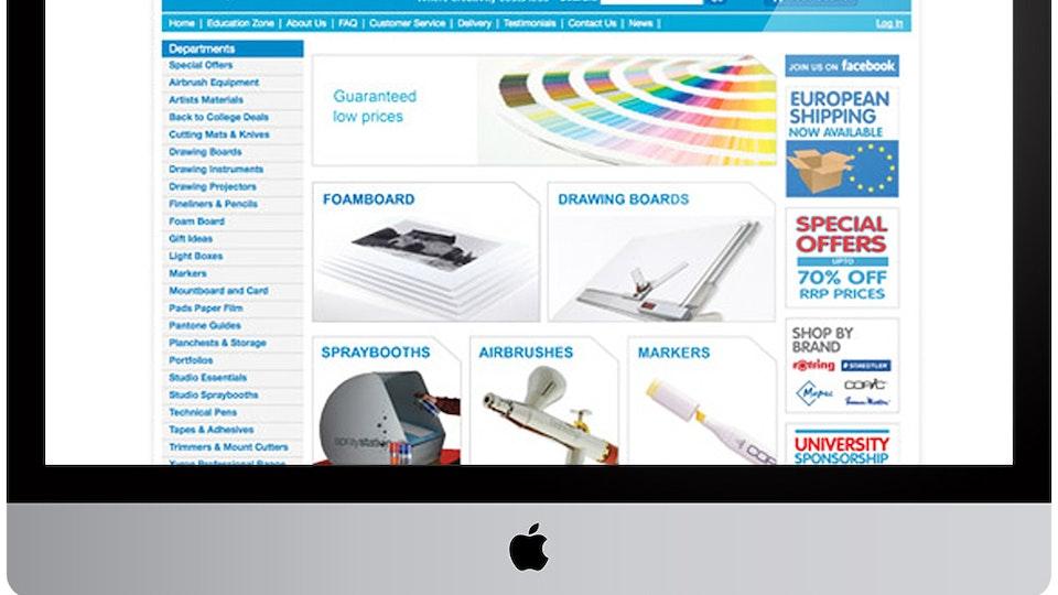 Graphics Direct website