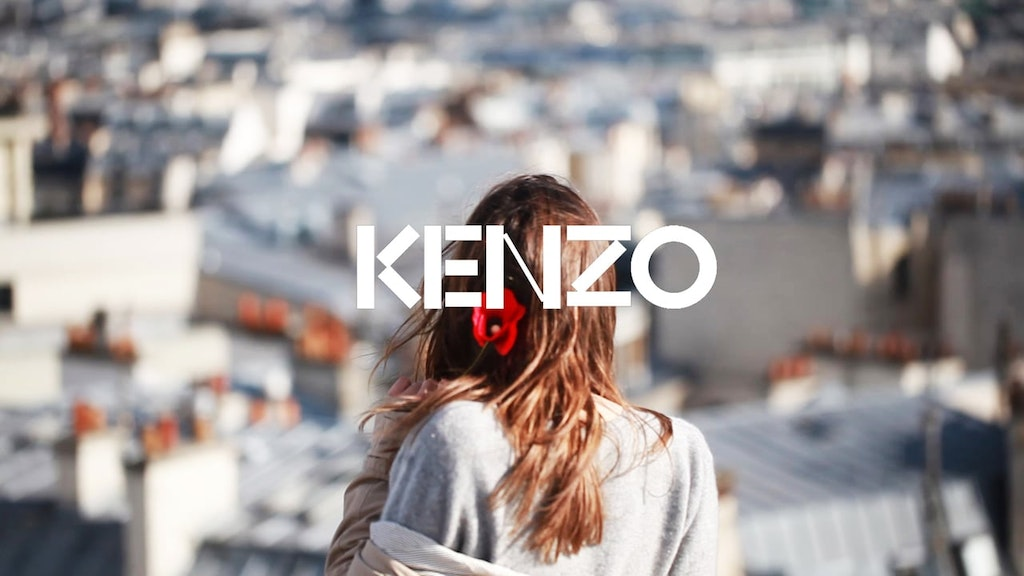 FLOWER BY KENZO / TRAVEL BOOK / PARIS