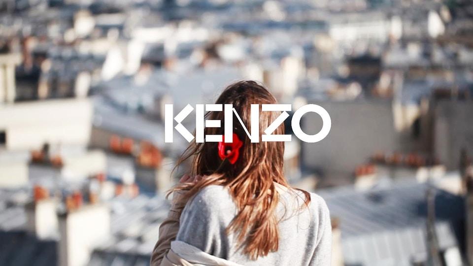 FLOWER BY KENZO / TRAVEL BOOK / PARIS
