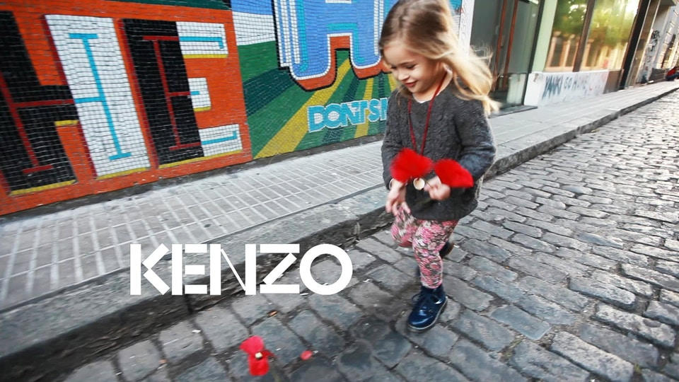 FLOWER BY KENZO / TRAVEL BOOK / BUENOS AIRES