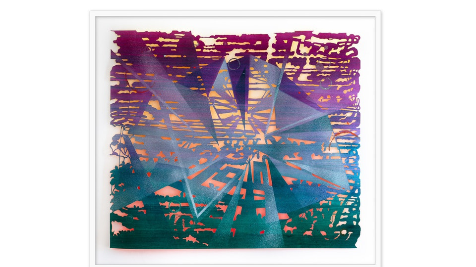 Sunset Crystal Fold