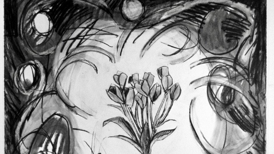 Agony in the Garden: 27 Spontaneous Drawings