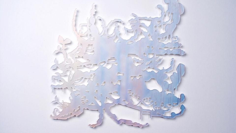 Miami Cloud Machine - Miami Cloud Machine 7 | 34.6 x 33.6 inche | machined cast acrylic sheet, ultra chrome print | 2009