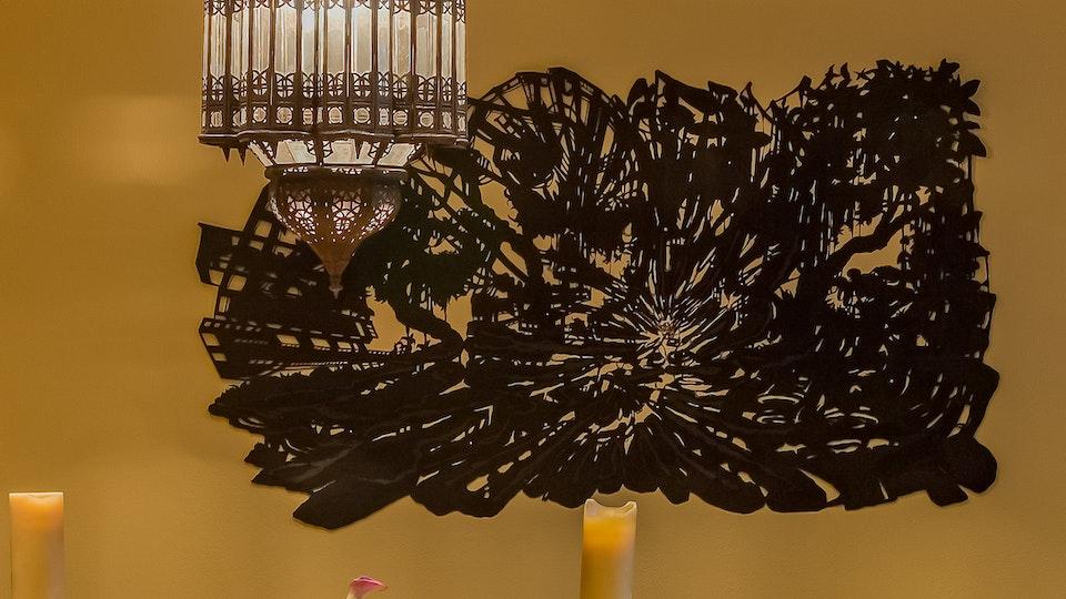Black Black Butterfly Sparkle Bomb