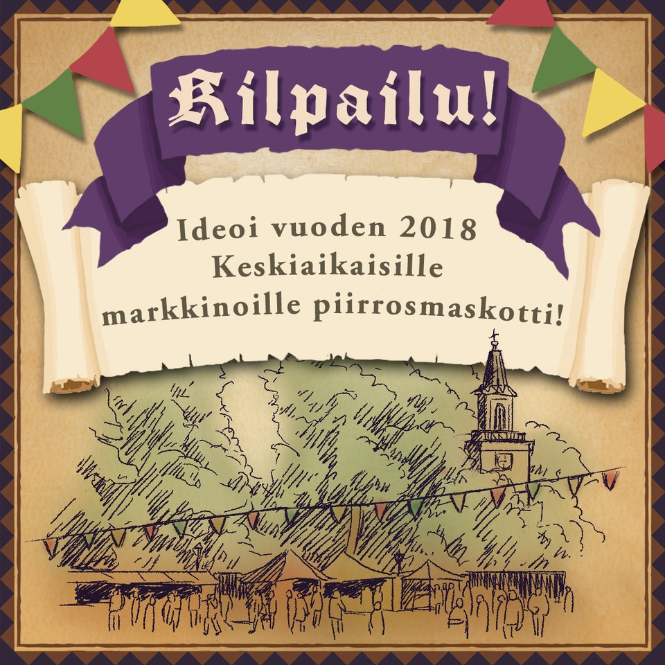 Turku Medieval Market designs (4 images)