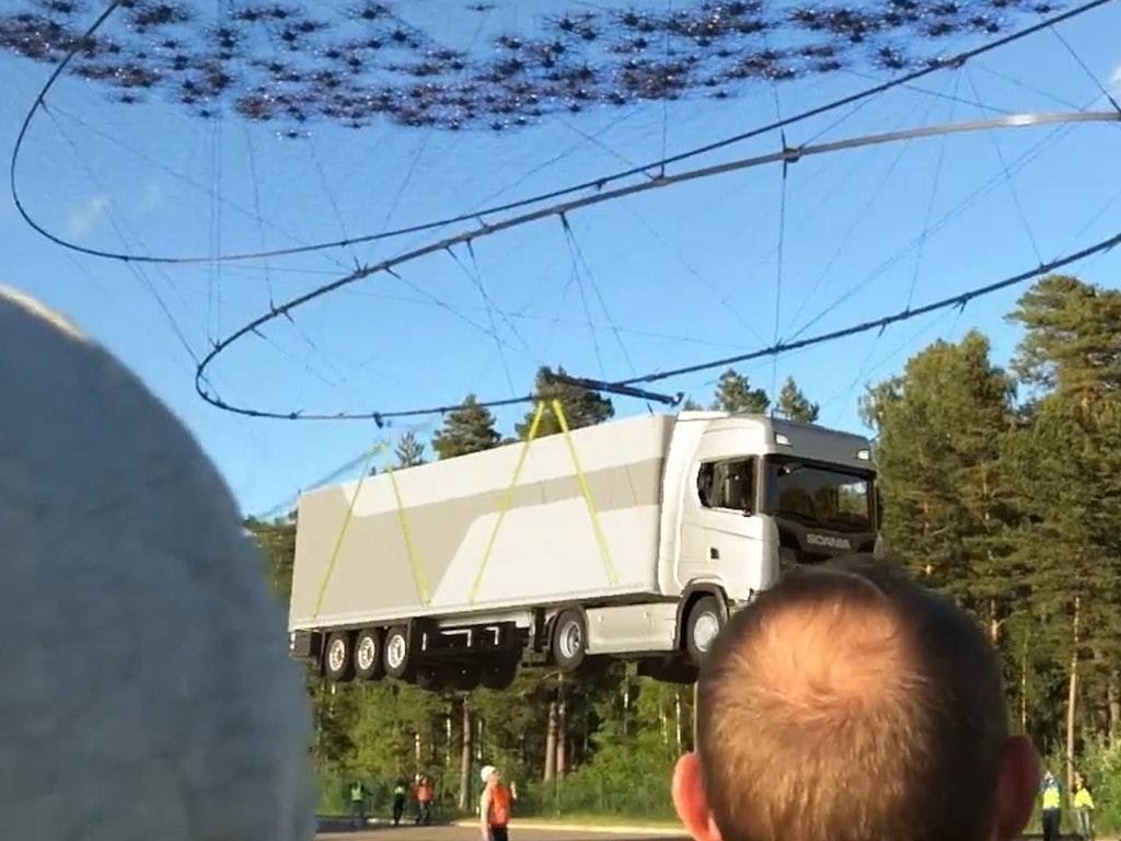 Flown by Drones Behind the Scenes