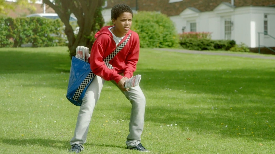Sports England - Paperboy