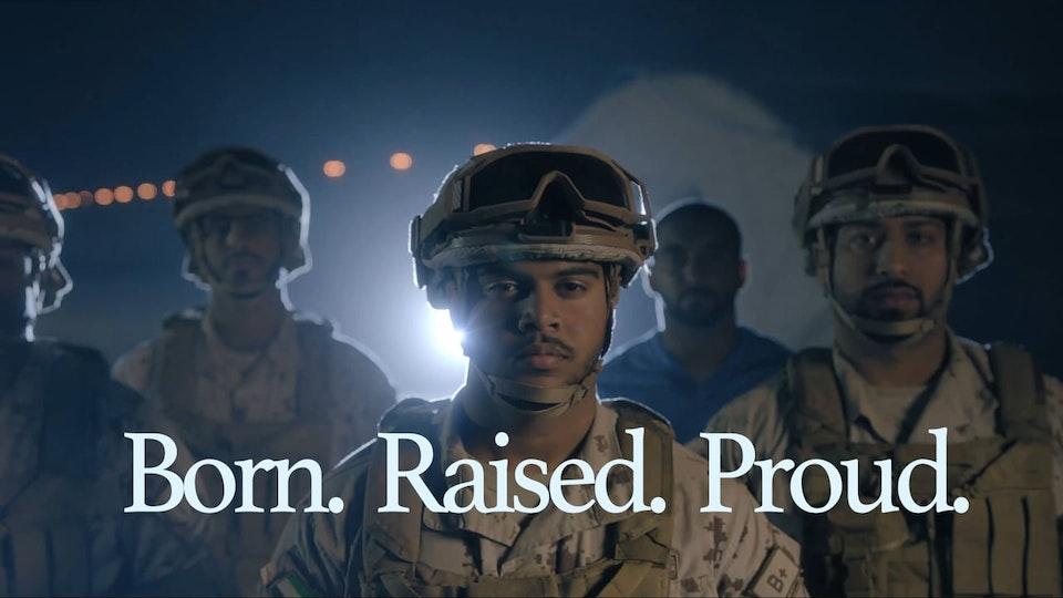 Born. Raised. Proud.
