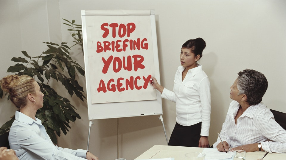 Workshops for Clients and Agencies - Part One of a two-part workshop in the art of the brief