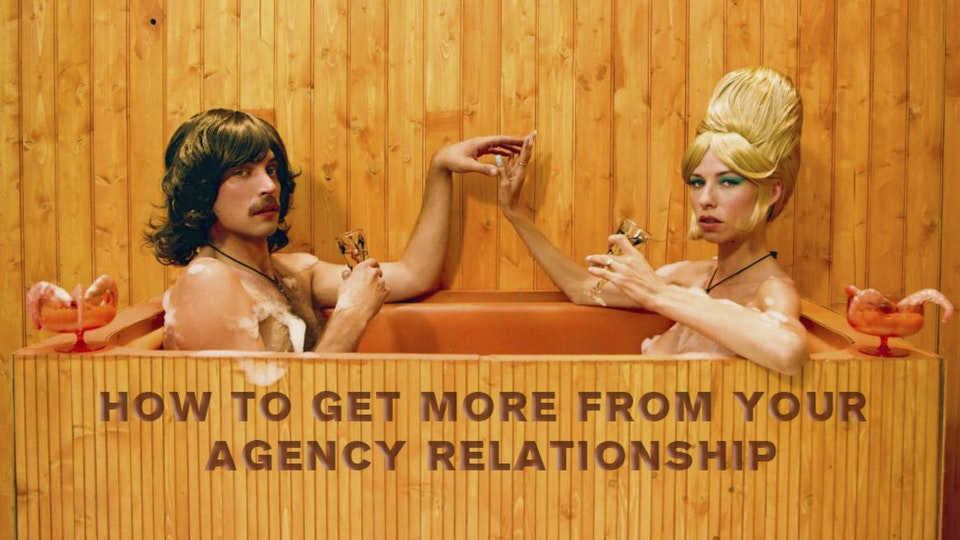 Workshops for Clients and Agencies - How to put the thrills back into your client/agency relationship.