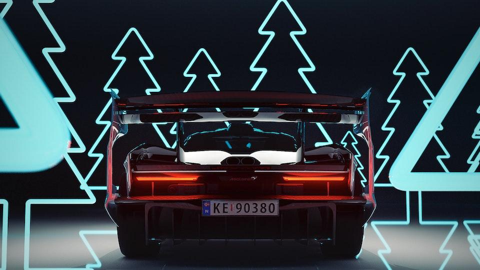 Mclaren Senna GTR Cyber Forest (2020)