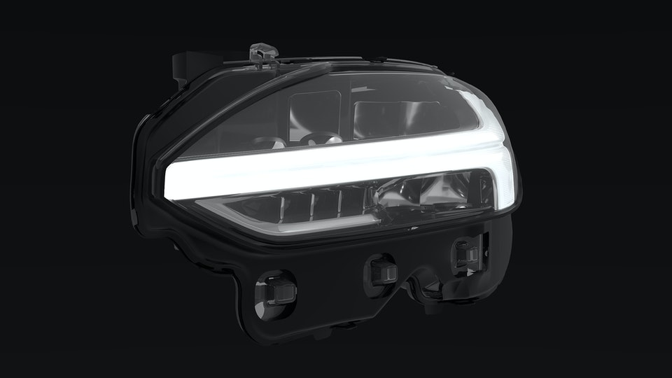 Volvo S90 Headlight Study