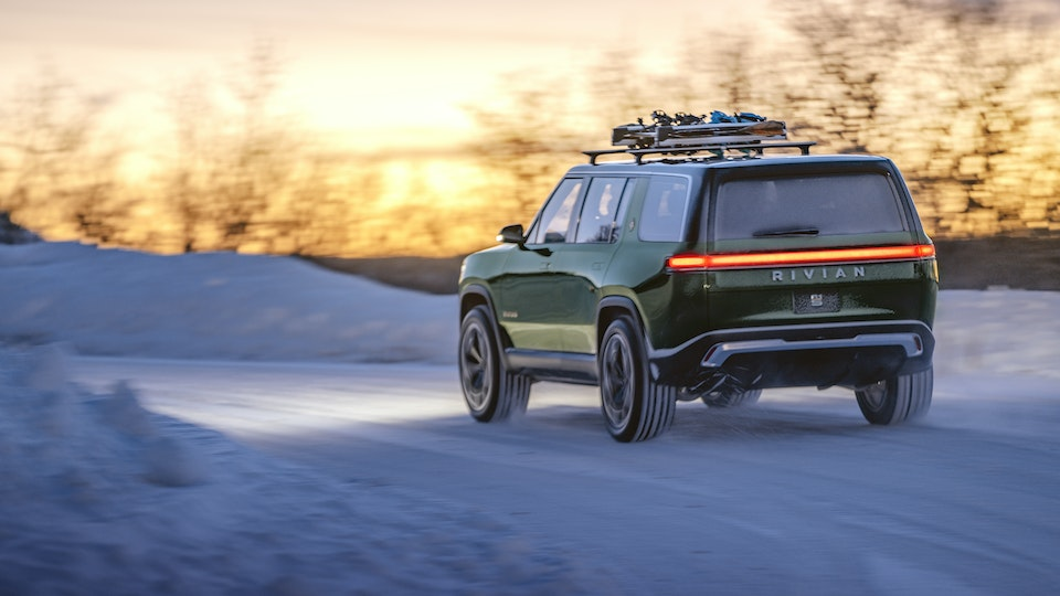 Work for Rivian - Edit - The social media team took the photo in Colorado and I provided the edit