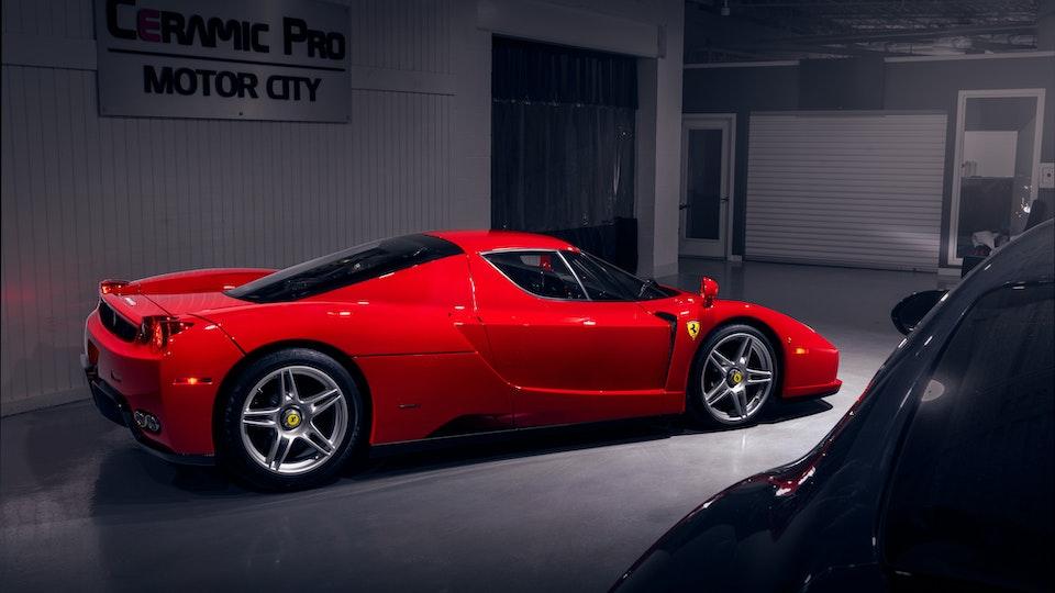 Ferrari Enzo and Ferrari F12 TDF for Finishing Touch Auto Spa