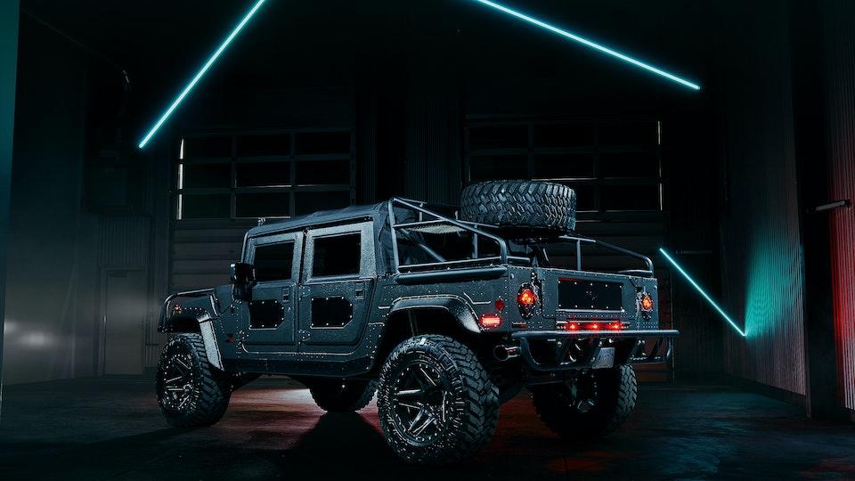 Milspec Production Vehicle #001