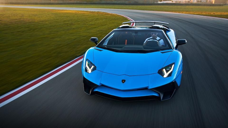 Lamborghini Aventador SV Roadster and Lamborghini Huracan Performante Spyder