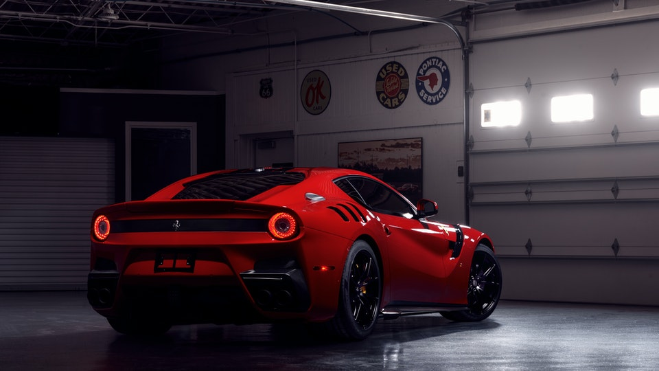Ferrari Enzo and Ferrari F12 TDF for Finishing Touch Auto Spa