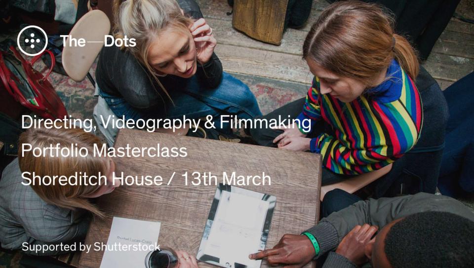 Filmmaking folio Masterclass