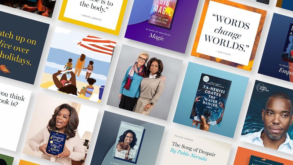Oprah's Book Club - The Instagram Edition