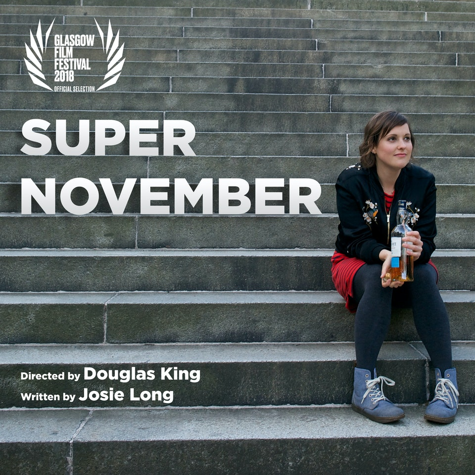 Douglas King - Super November Premiere at Glasgow Film Festival