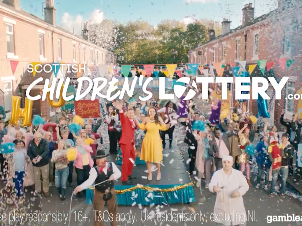 ITV CREATIVE - Childrens' Lottery
