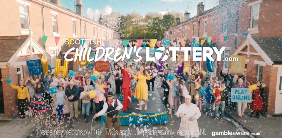 ITV CREATIVE - Childrens' Lottery -