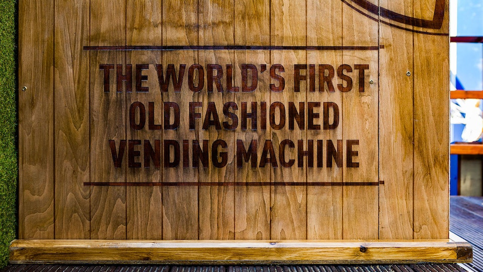 The Old Fashioned Vending Machine