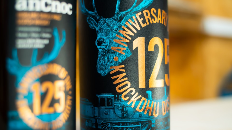 anCnoc Whisky - The 125th Anniversary of the Knockdhu Distillery