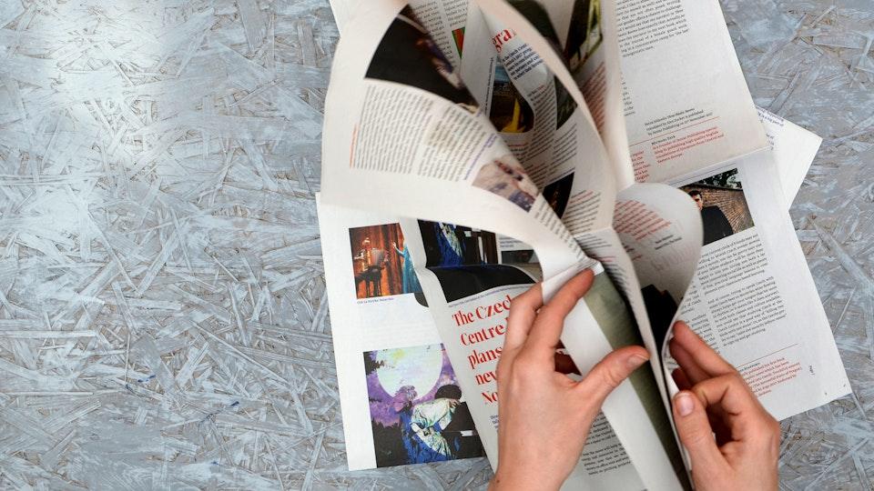 Noviny pro České Centrum Londýn