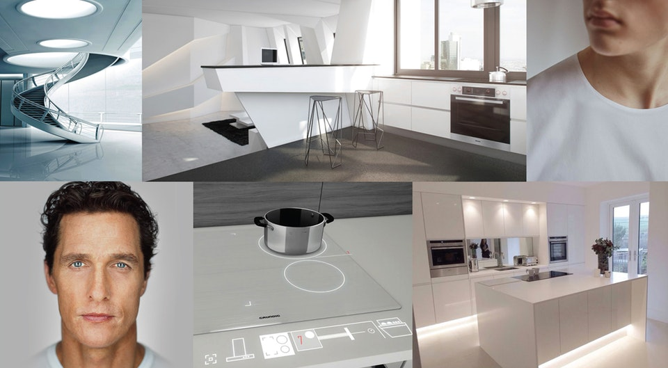 TV commercial treatments #3 Grundig VUX kitchens