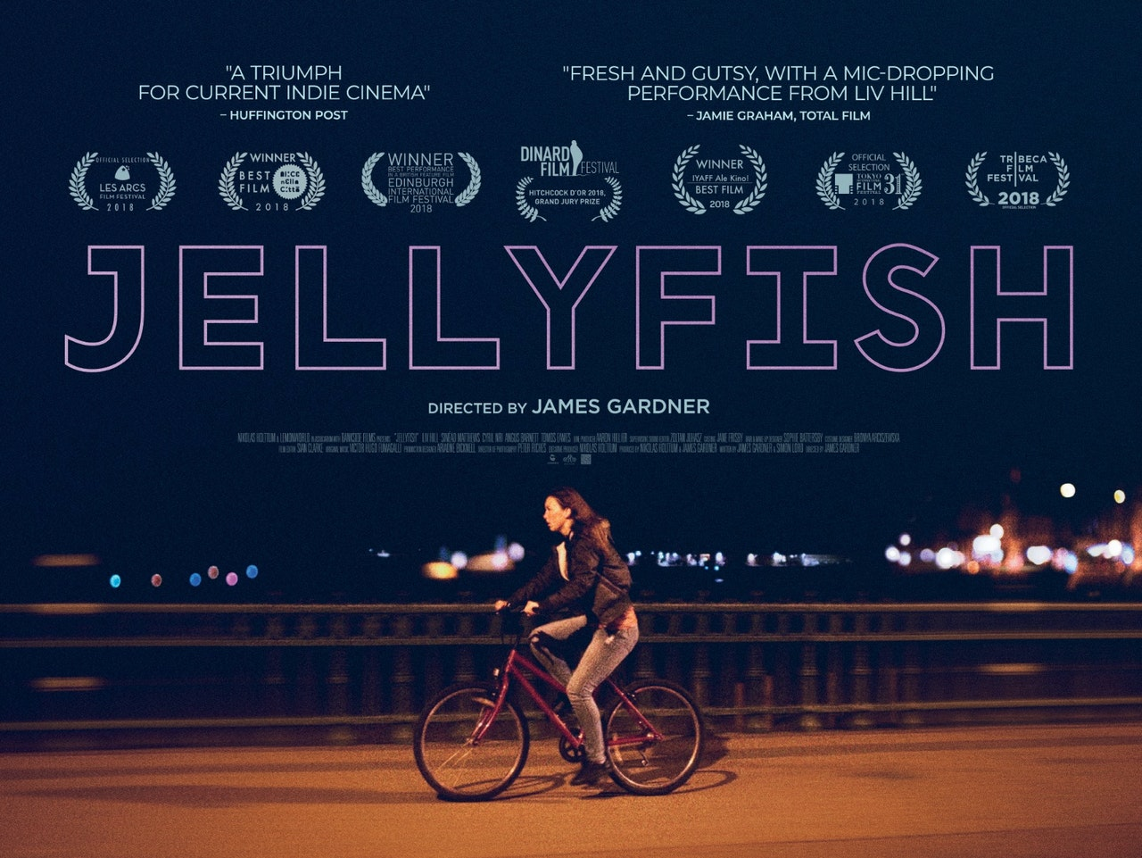 Jellyfish Landscape Poster