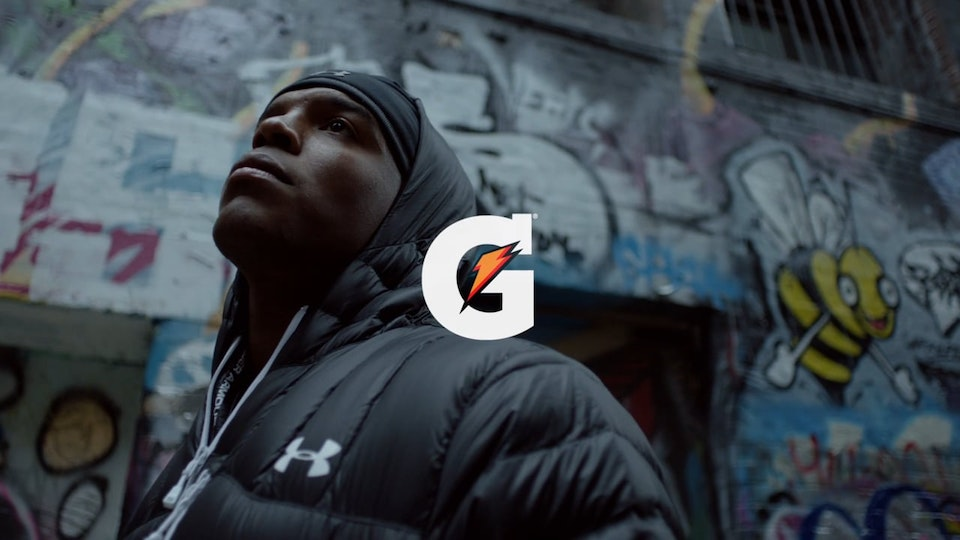 TJ O'Grady Peyton Gatorade - 24 Hours, The Footballers Cam Newton