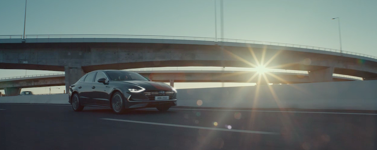 Daniel's love and talent for shooting cars is beautifully showcased in his new film for Hyundai #TechnologyLovesYou