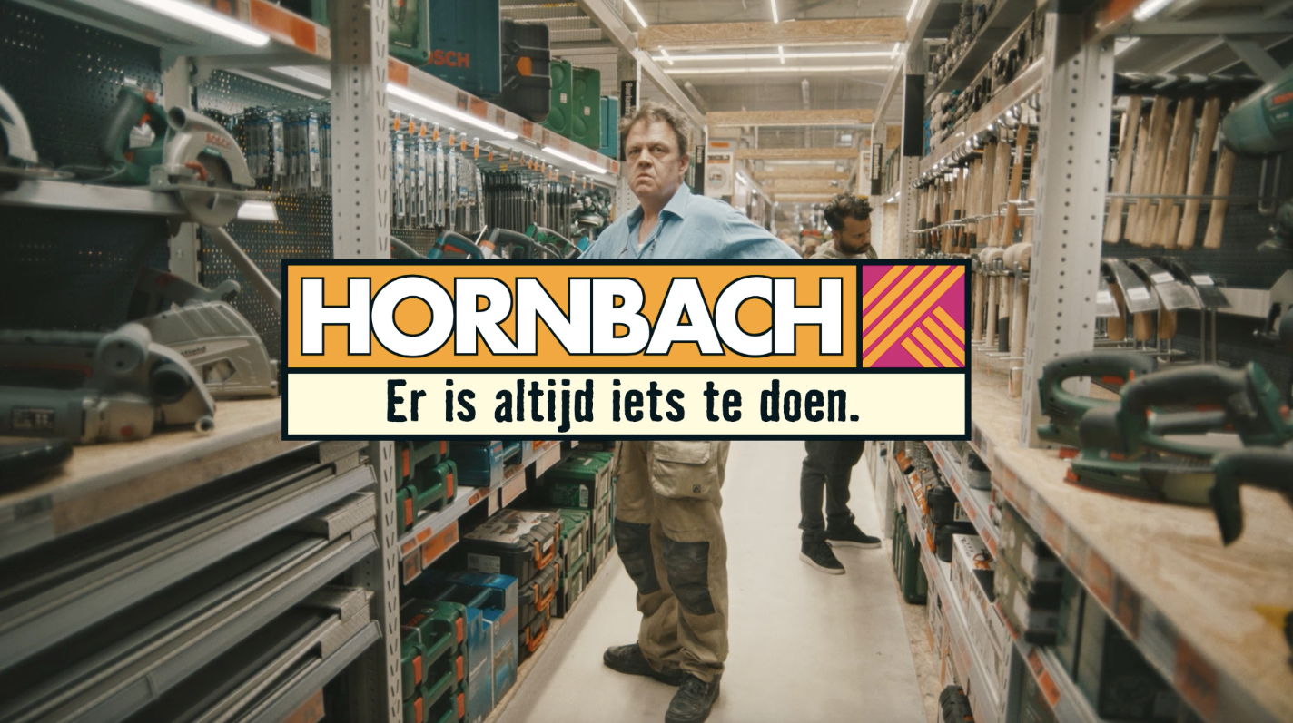 Andre Maat 'nails' his second Hornbach campaign (DIY pun intended)