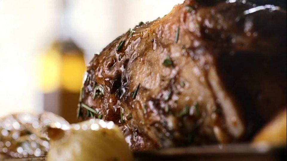 Stuart Rideout Welsh Lamb - Wet Your Appetite