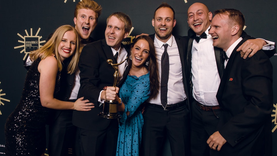 Darling - Jim Weedon scores a Gold at the PromaxBDA Awards!