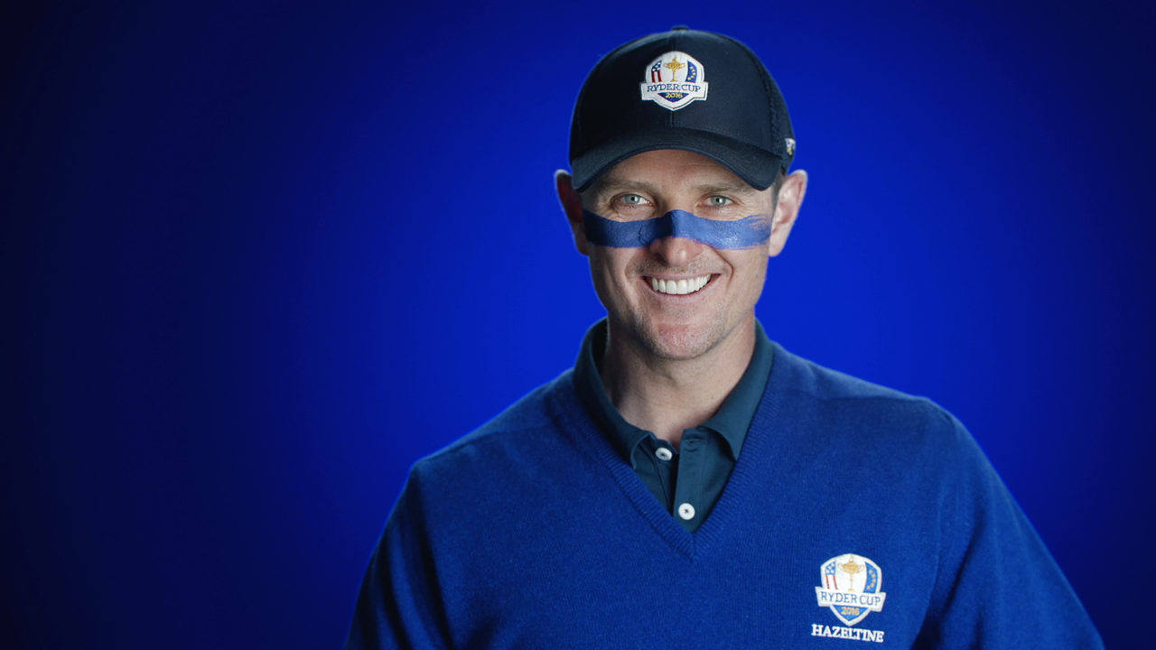 The 2016 Ryder Cup 'Show Your Colours' -