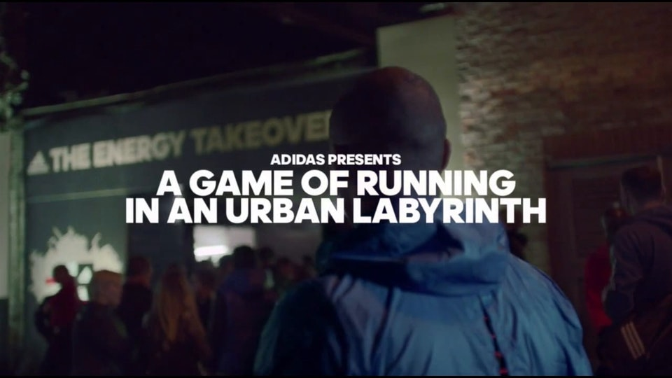 Adidas - The Energy Takeover