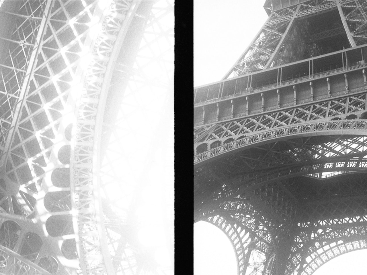 eiffel tower x 2