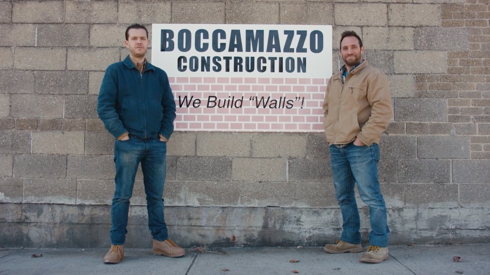 "Boccamazzo Construction: ""We Build Walls!"" - Short Film"