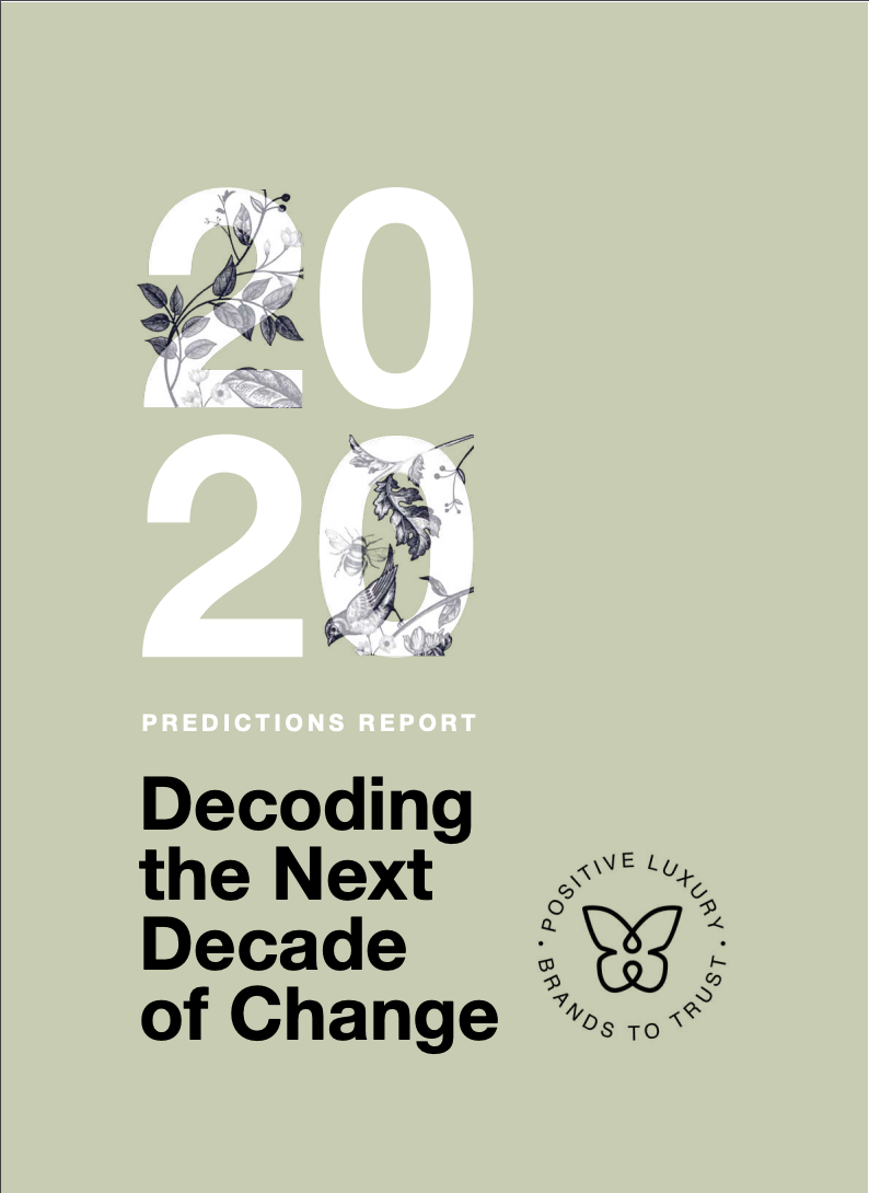Maria Jose Contreras - Predictions Report 2020 - Positive Luxury