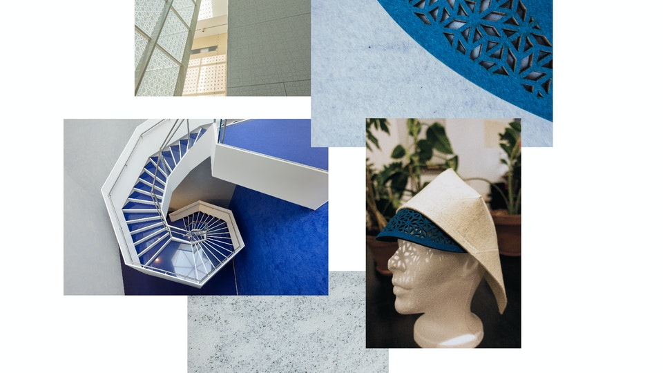 Aga Khan Museum: Book & Hat - Photos I took for the book - Hat Production Process